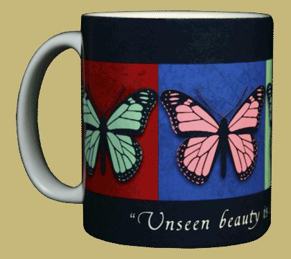 Unseen Beauty Ceramic Mug - Front