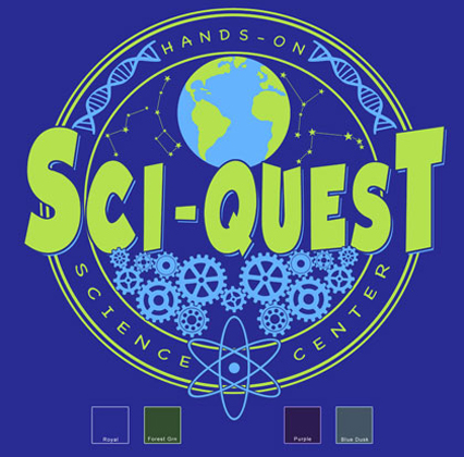 Science Gears Custom Template - Royal Blue