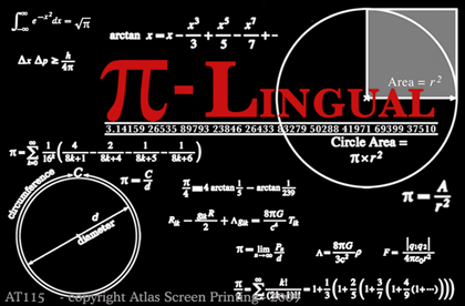 """Pi-Lingual 2"""" X 3"""" Magnet"""