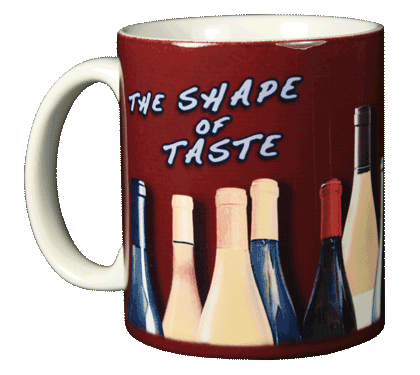 Shape of Taste Ceramic Mug - Front