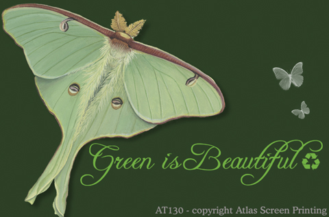 "Green Is Beautiful 2"" X 3"" Magnet"
