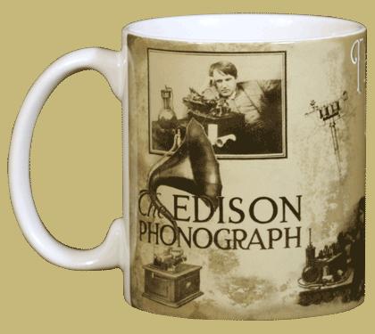 Edison Ceramic Mug - Front