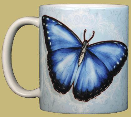 Morpho Ceramic Mug