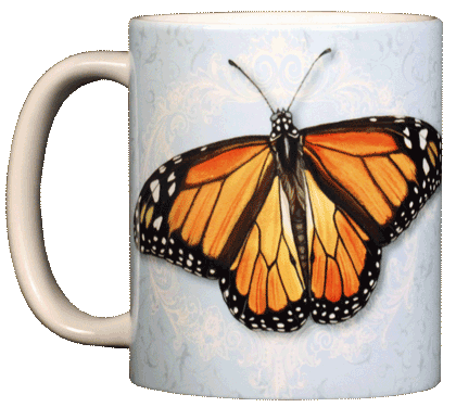 Monarch Ceramic Mug - Front