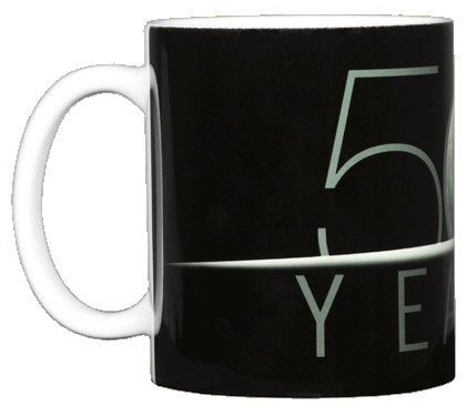 Apollo 11 Moonrise 50th Ceramic Mug - Front