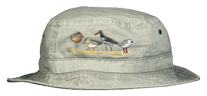 Shorebirds Embroidered Bucket Cap (LG-XL)
