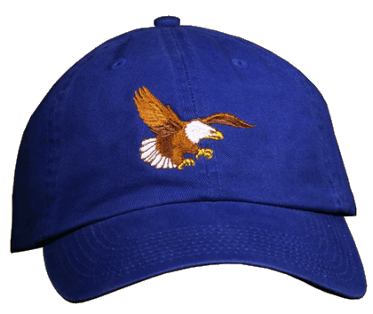 Eagle Landing Embroidered Cap