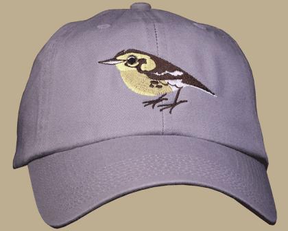 Warbler Embroidered Cap