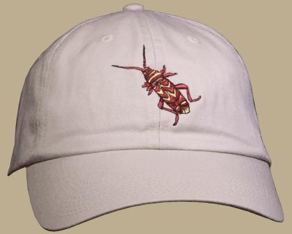 Locust Borer Embroidered Cap