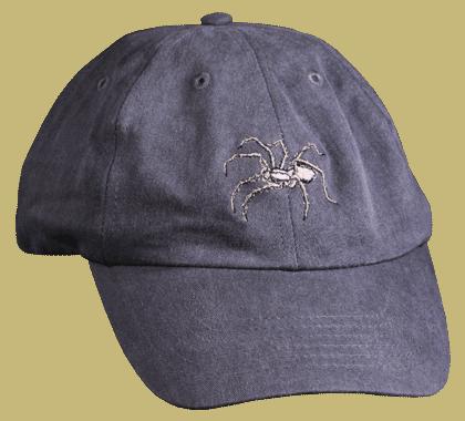 Wolf Spider Embroidered Cap