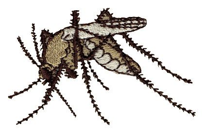 Mosquito Embroidered Cap