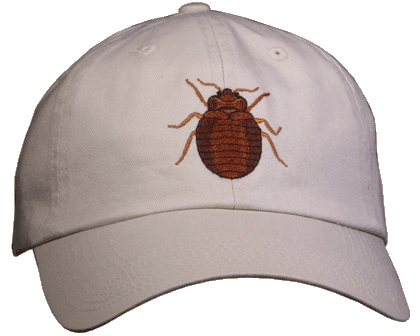 Bed Bug Embroidered Cap