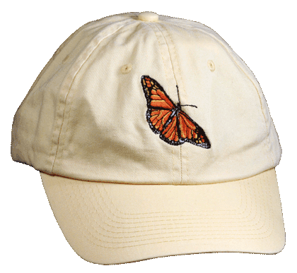 Monarch Embroidered Cap - Front