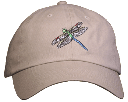 Dragonfly Embroidered Cap