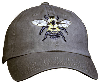 Bumble Bee Embroidered Cap