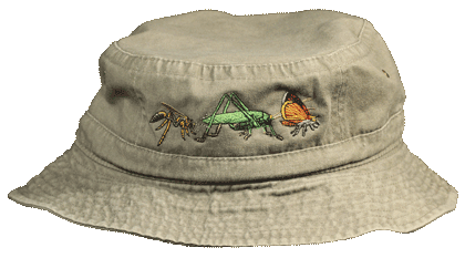 Insect Parade Adult Bucket Cap