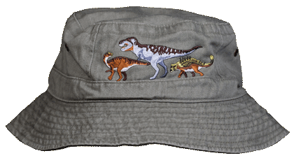 Dino Boy Youth Bucket Cap