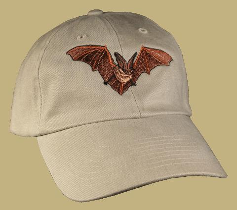 Bat Embroidered Cap