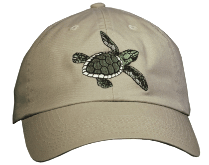 Sea Turtle Embroidered Cap