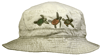 Sea Turtle Trio Bucket Cap
