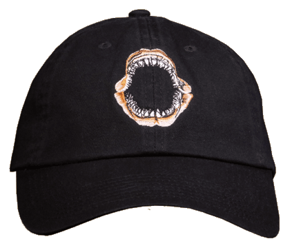 Shark Jaws Embroidered Cap