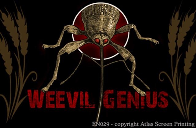 "Weevil Genius 2"" X 3"" Magnet"
