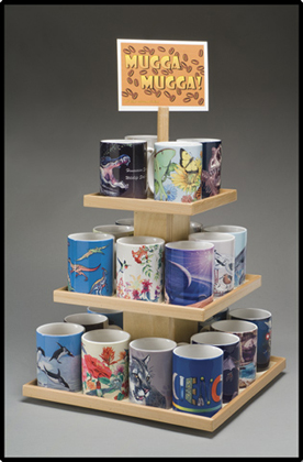 Mug Display Rack