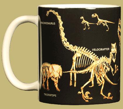 Bones Ceramic Mug - Front