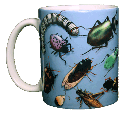 Bug Wrap Ceramic Mug - Front