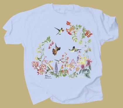 Hummer Garden Adult T-shirt