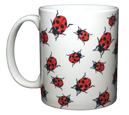 Ladybugs Ceramic Mug