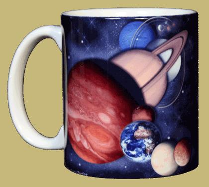 Planets & Dwarf Planets Ceramic Mug