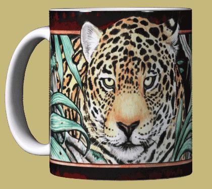 Leopard Ceramic Mug - Front