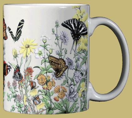 Butterflies of NA Ceramic Mug
