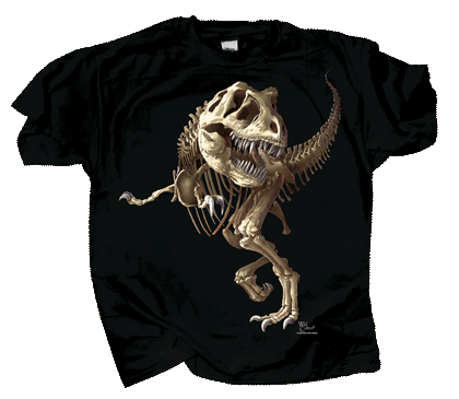 T-Rex Skeleton Youth T-shirt