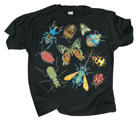Bug Glow Youth T-shirt - Front
