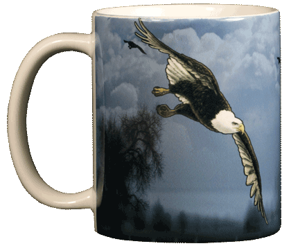 Bald Eagle Ceramic Mug