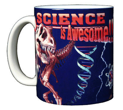 Science Is Awesome Ceramic Mug - Front