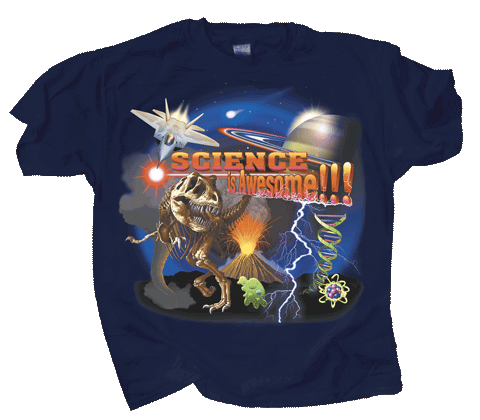 Science is Awesome Adult T-shirt