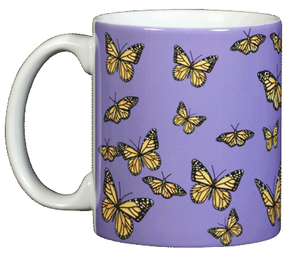 Monarch Medley Ceramic Mug - Front