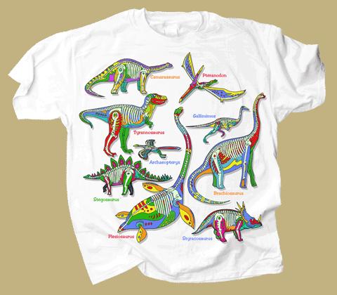 Dino Glow Youth T-shirt