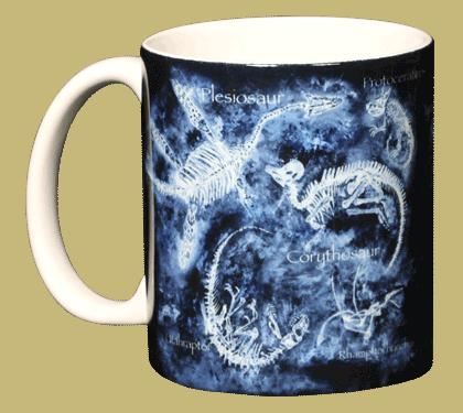 Glow Bones Ceramic Mug - Front