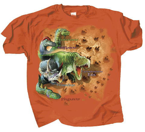 Dino Trax Youth T-shirt