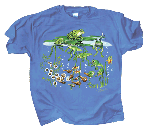 Frog Pond Youth T-shirt - Front
