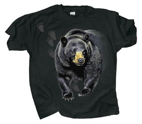 Bear Trax Adult T-shirt - Front