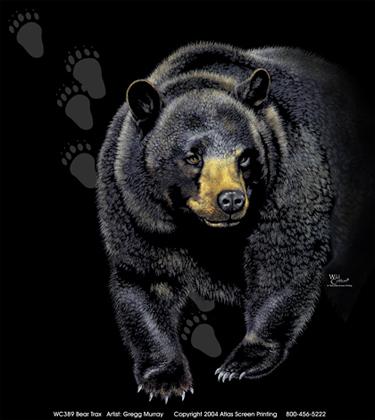 Bear Trax Adult T-shirt