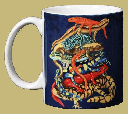 Pile-O-Manders Ceramic Mug - Front