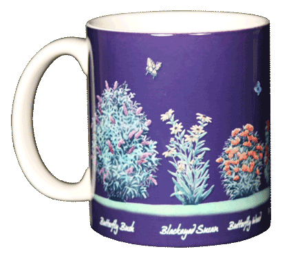 Butterfly Nectar Ceramic Mug - Front