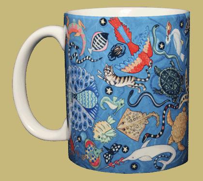 Circle of Life Ceramic Mug - Front