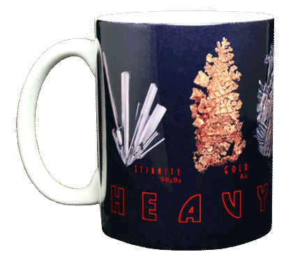 Heavy Metal Ceramic Mug - Front
